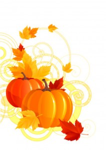 The-Pumkin-Design-with-Orange-and-Red-Leaves